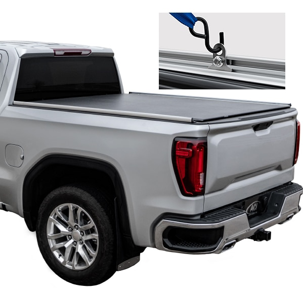 Access Aluminum Truck Bed Rails with Tie Downs