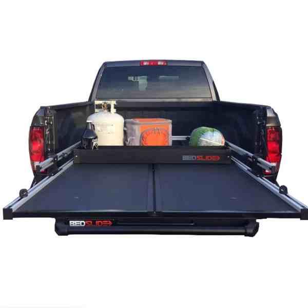 Bedslide Truck Bed Cargo Slider Deck Divider Black BSA-DKB-BED