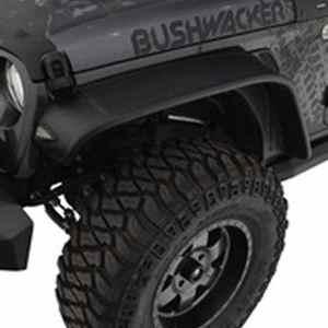 Bushwacker Flat Style Fender Flare Jeep Wrangler