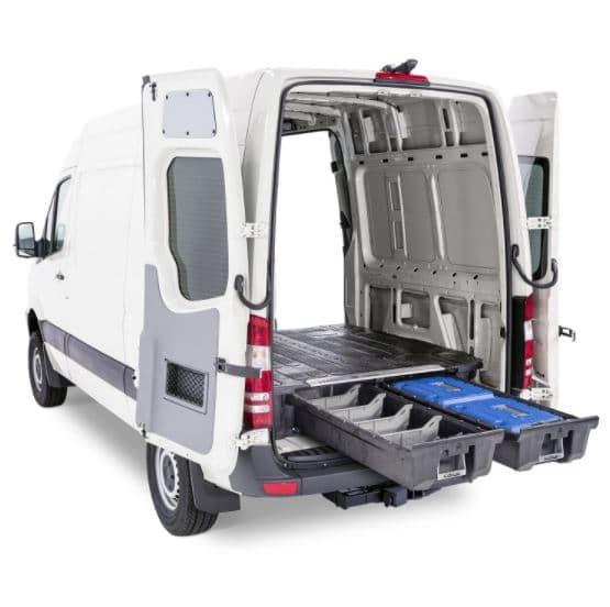 DECKED Storage Drawer System Sprinter Cargo Van