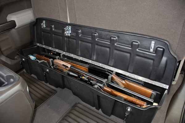 Select Models Available with Locking Lids for Gun Lock Box
