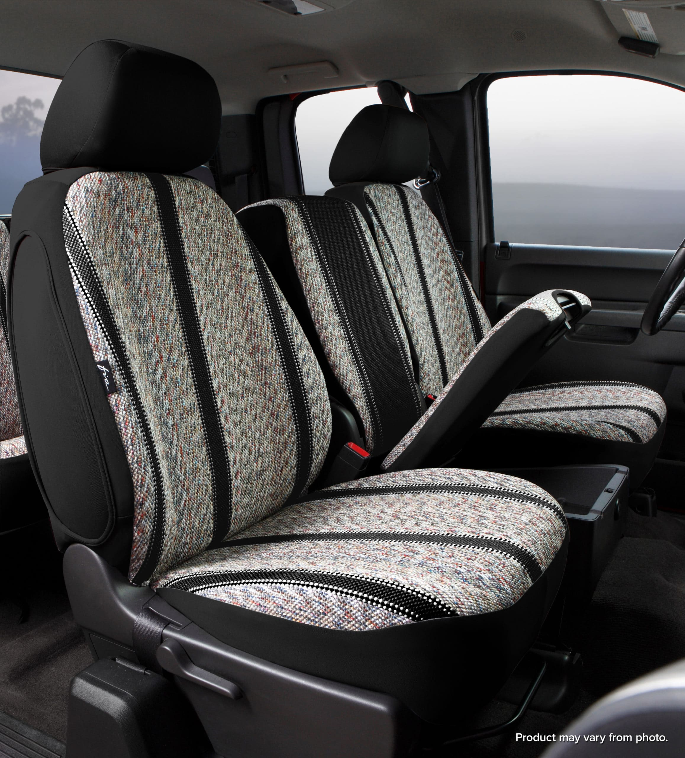 Fia Original Wrangler Seat Covers - Black - Front Seats