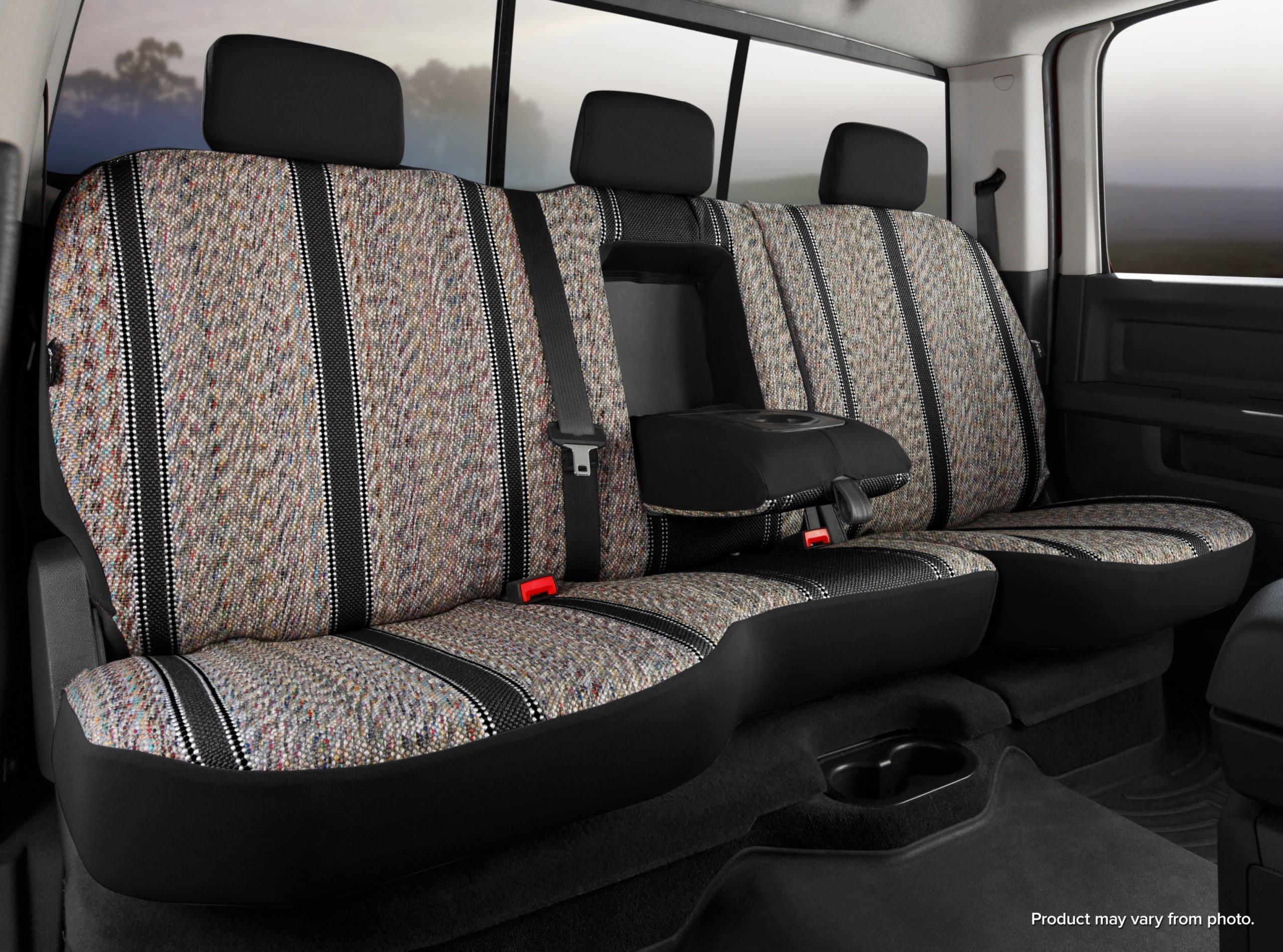 Fia Original Wrangler Seat Covers - Black- Rear Seats
