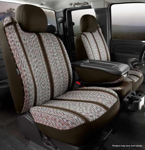 Fia Original Wrangler Seat Covers - Brown - Front Seats