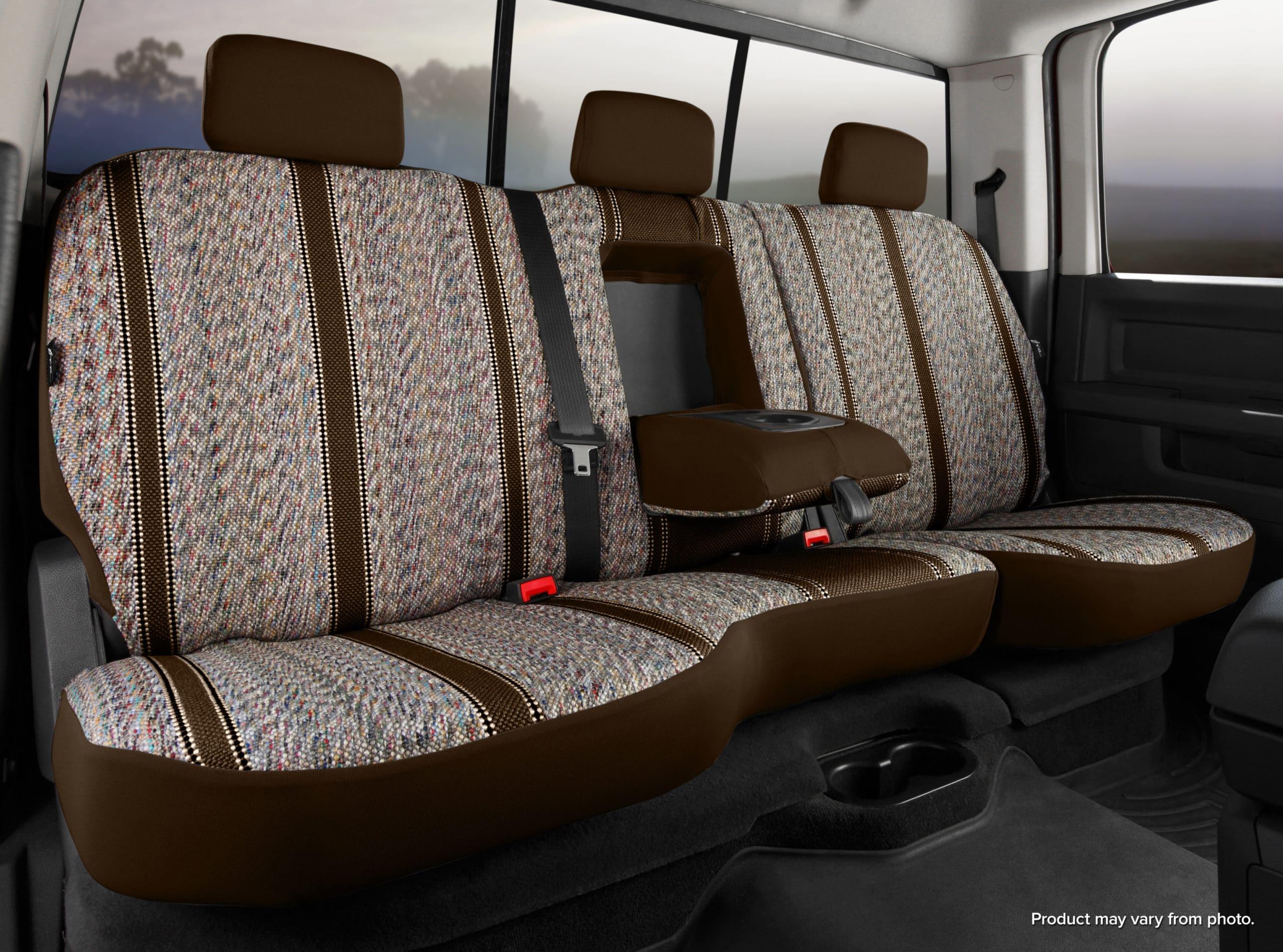 Fia Original Wrangler Seat Covers - Brown - Rear Seats