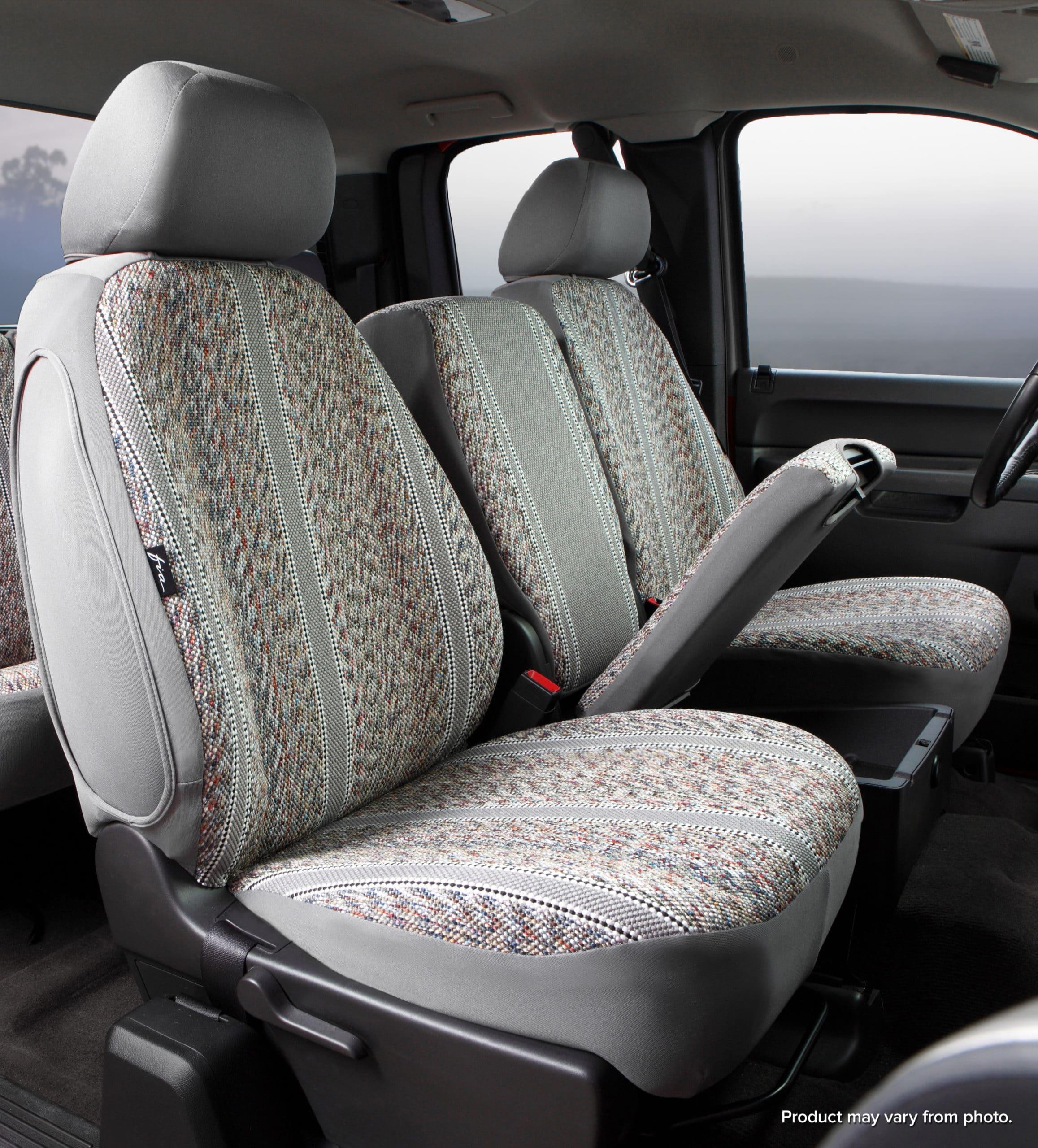 Fia Original Wrangler Seat Covers - Gray - Front Seats