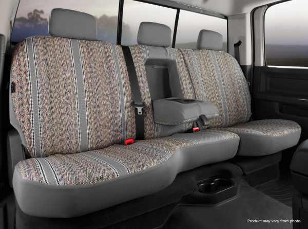 Fia Original Wrangler Seat Covers - Gray - Rear Seats