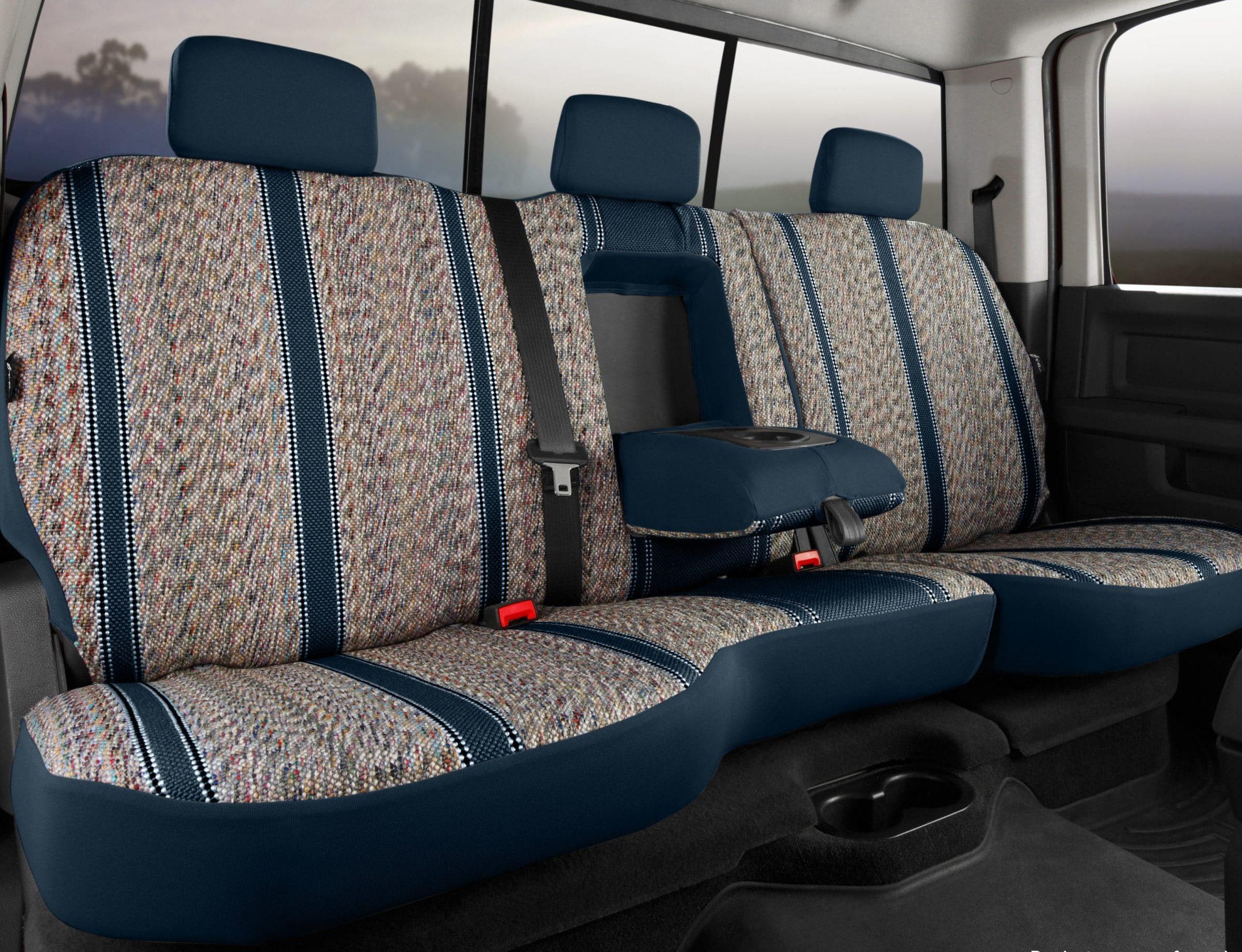 Fia Original Wrangler Seat Covers - Navy - Rear Seats
