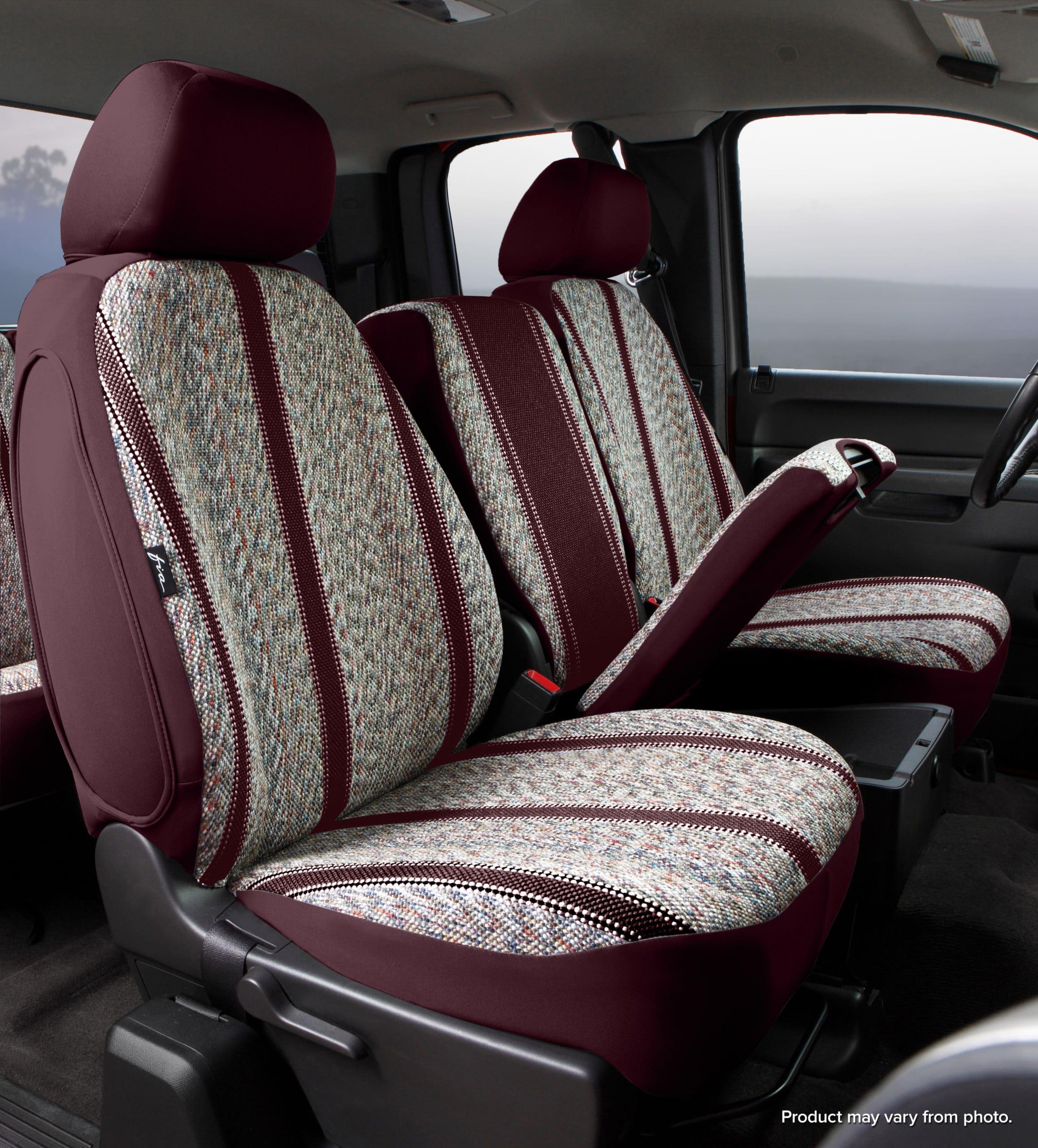 Fia Original Wrangler Seat Covers - Wine - Front Seats