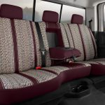 Fia Original Wrangler Seat Covers - Wine - Rear Seats