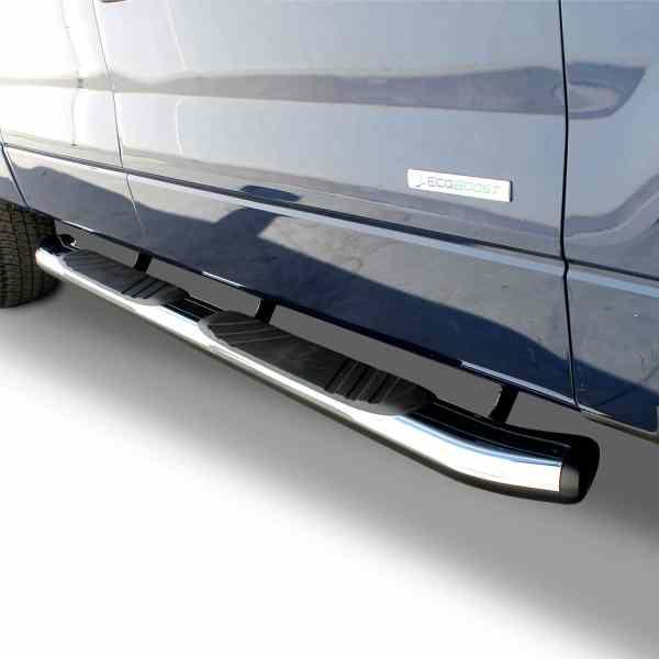 Go Rhino OE Xtreme Chrome Oval Nerf Ford F150