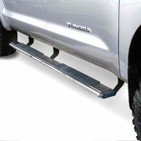 Go Rhino OE Xtreme Low Profile Polished Side Toyota Tundra Bar