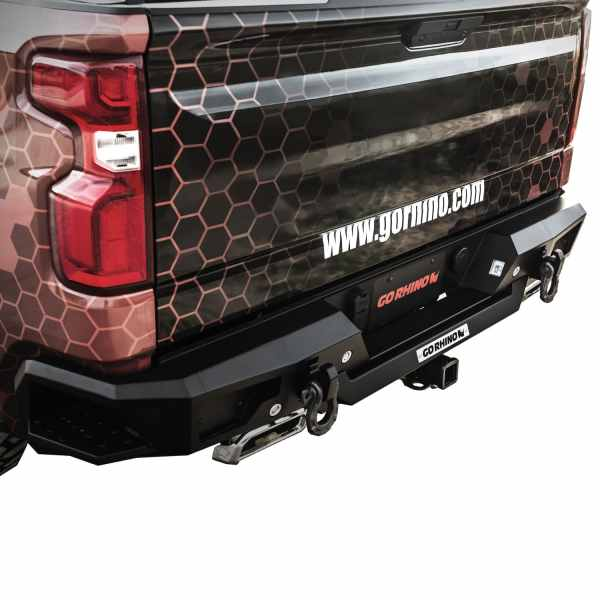 Go Rhino BR20.5 Rear Bumper Replacement Chevy Silverado