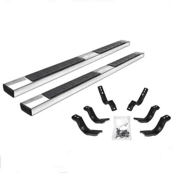 Go Rhino OE Xtreme II Polished Stainless Steel Steps