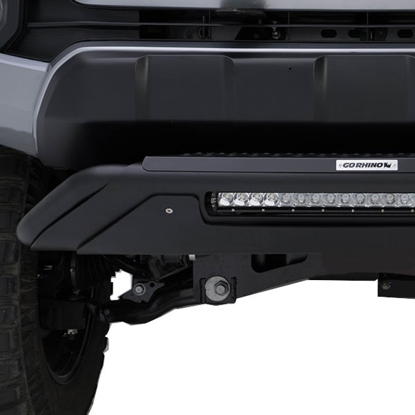 Go Rhino RC3 Skid Plate With Light Bar