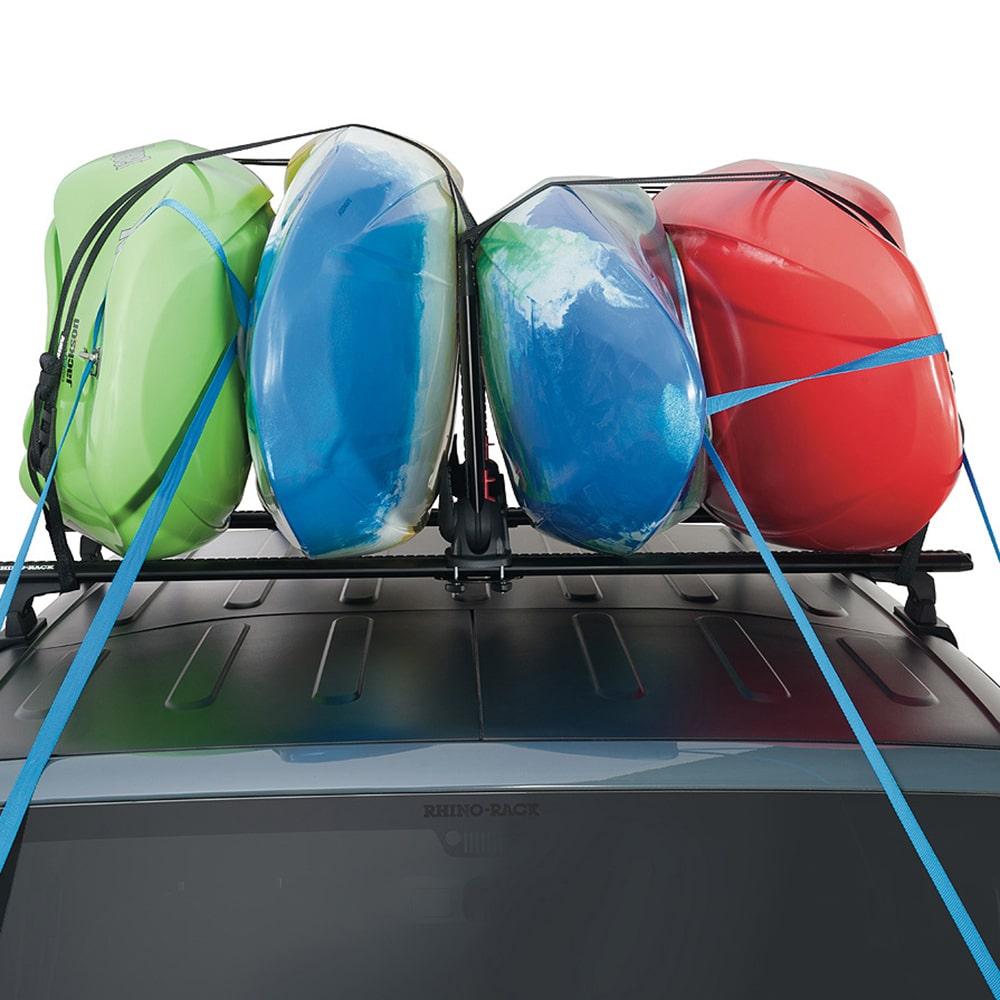 Nautic Stack Holds Four Kayaks