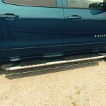 Stainless Patriot Boards on Chevy Silverado