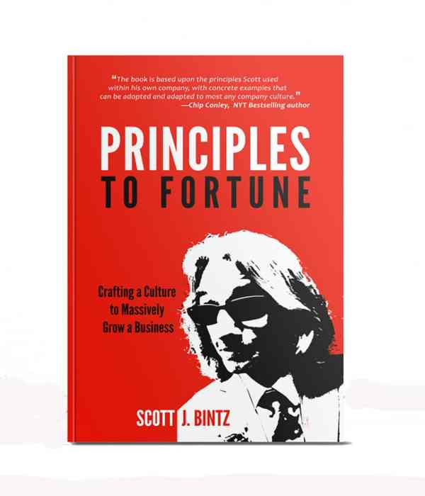 Principles to Fortune - Hard Cover - 978-0999623411