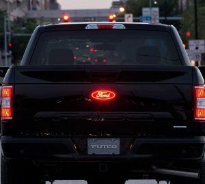 Putco Luminix Ford Emblem Installed Rear