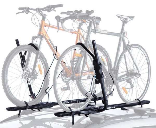 Get 1 or 2 Hybrid Cross Bar Mount Bike Racks