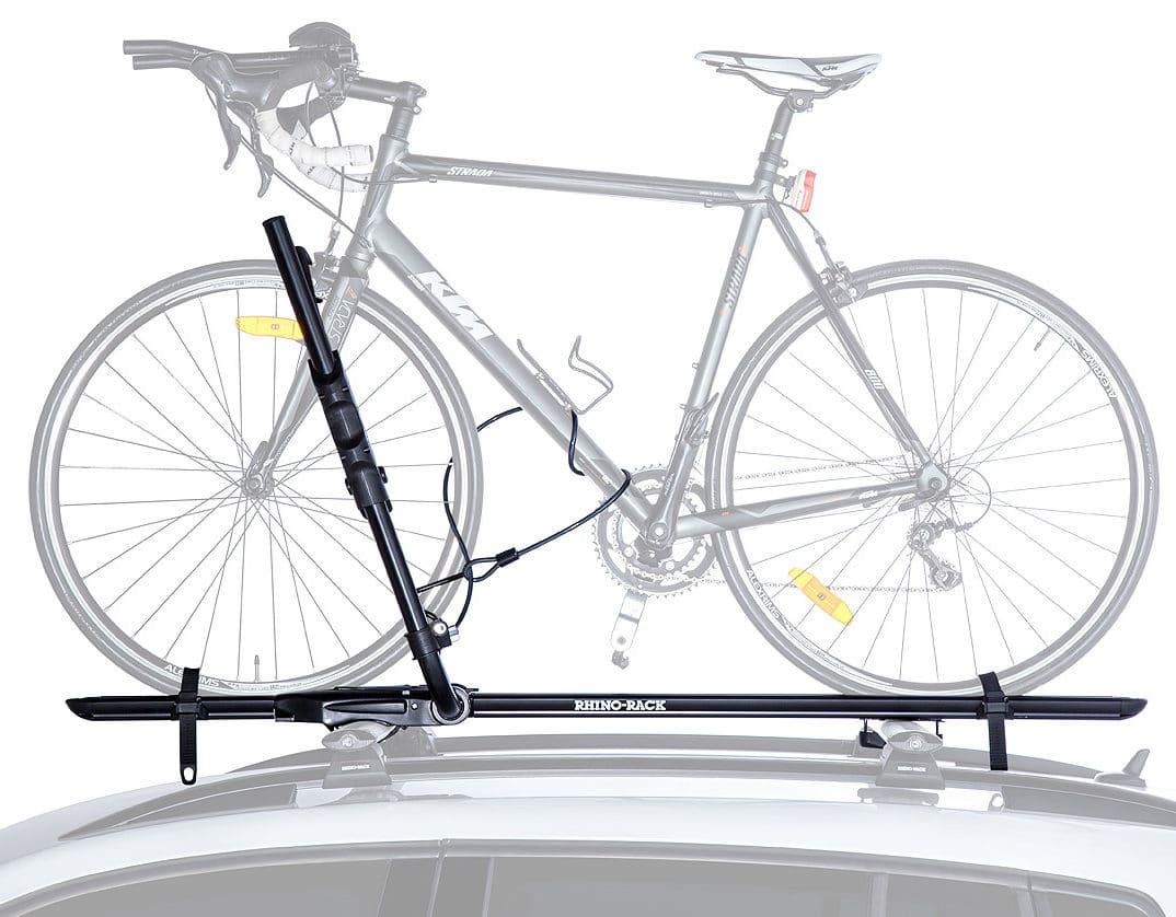 RBC050 Hybrid Bike Rack Side View