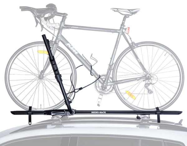 RBC050 Hybrid Bike Rack Side View