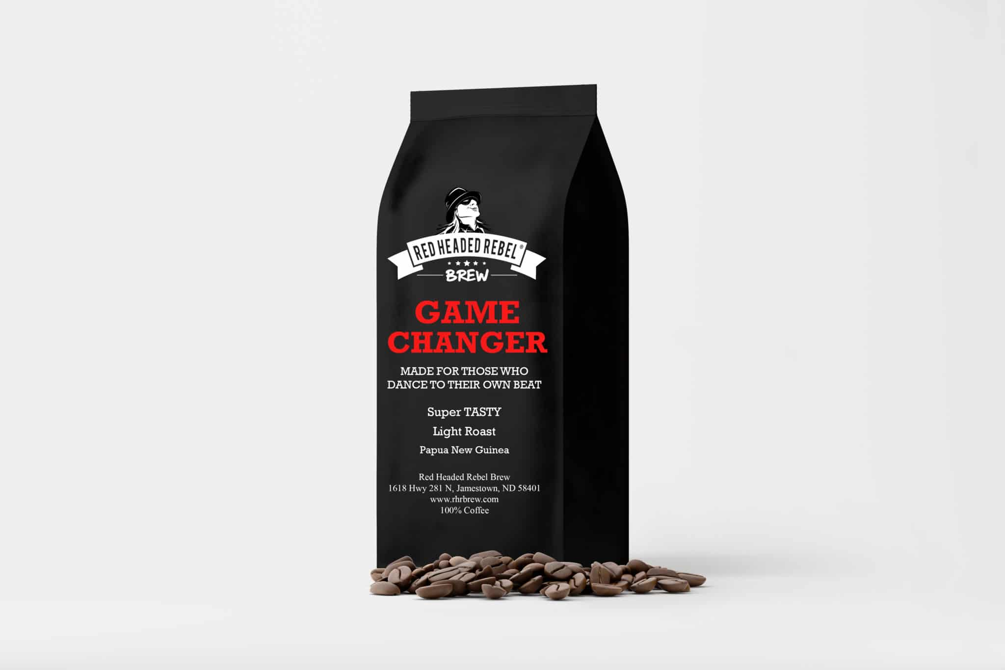 RHR Game Changer Coffee - Whole Bean - 12 oz Bag