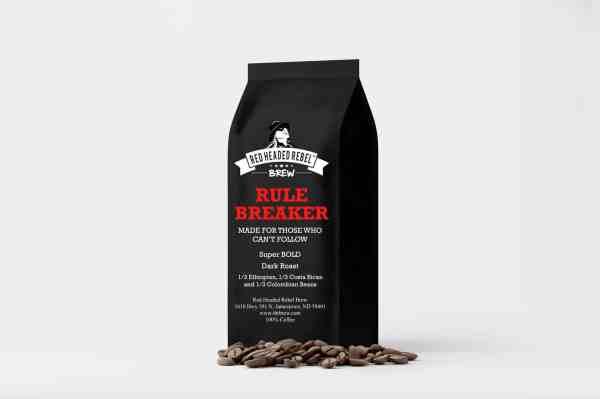 RHR Rule Breaker Coffee - Whole Bean 12 oz Bag