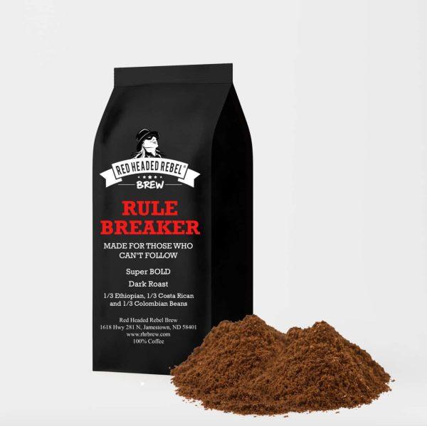 Rule Breaker Coffee – Regular Grind (12oz Bag)