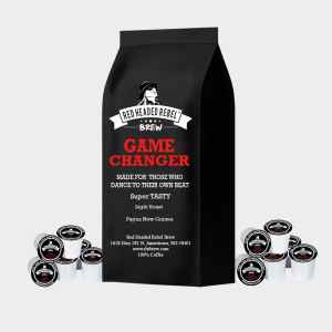 RHR Game Changer Coffee - Single Serve Cups - 50 Pack - Red Headed Rebel