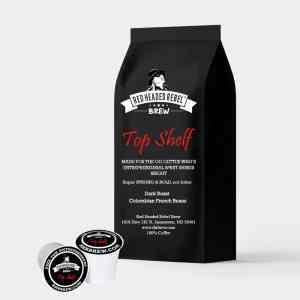 RHR Top Shelf Coffee - Single Serve Cups - 10 Pack