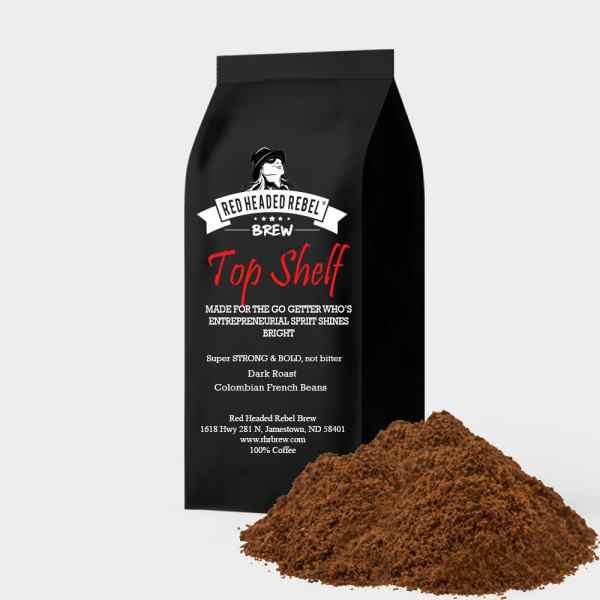 RHR Brew Top Shelf Coffee - 5 Pound Bag - Ground