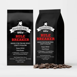 RHR Rule Breaker Coffee - 2 Pack - Whole Bean