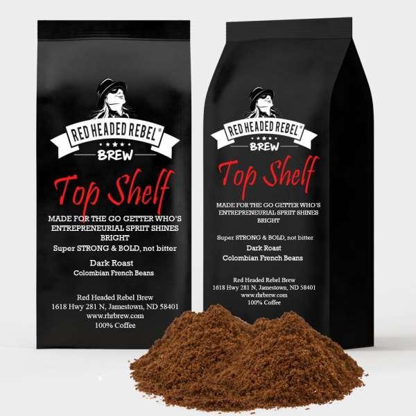 RHR Top Shelf Coffee - 2 Pack - Espresso Grind