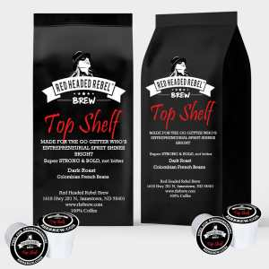 RHR Brew Top Shelf - Rebel Cups - 20 Pack