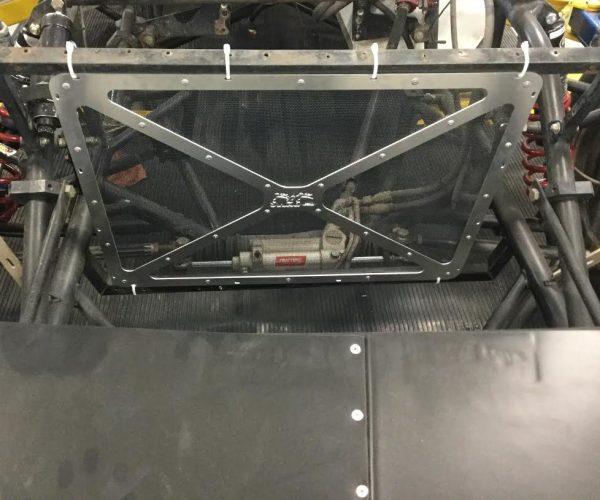 RHR LT Radiator Screen Mounted in a Late Model