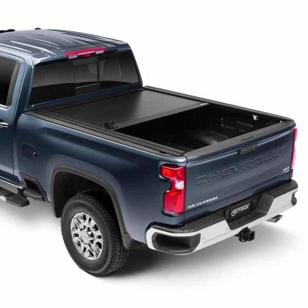 ReTrax PowertraxONE XR truck bed cover Chevy GMC