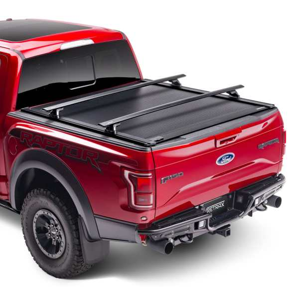 ReTraxOne XR Truck Bed Cover with Rack