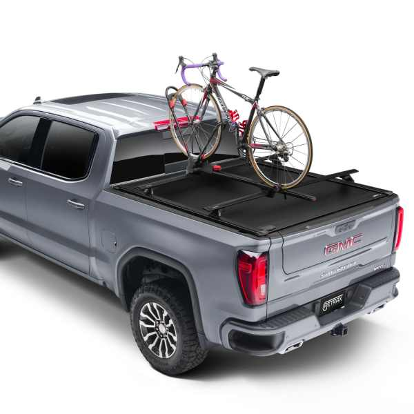 ReTraxONE XR GMC Sierra Truck Bed Cover with T-Slot Trax Rails