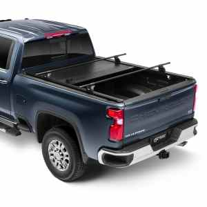 RetraxPRO XR Truck Bed Cover Chevy Silverado with Rack - Rack Sold Separately