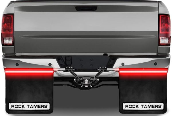 Rock Tamers LED Towing Mud Flaps Light Bars