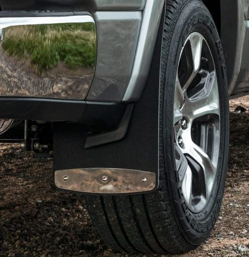 RockStar Custom Fit Truck Mud Flaps with plates