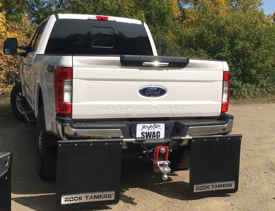 Rock Tamer Flaps with Shocker Impact Cushion Hitch