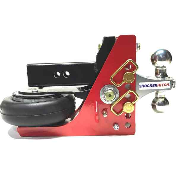 Shocker 16K HD Air Hitch with Combo Ball Mount