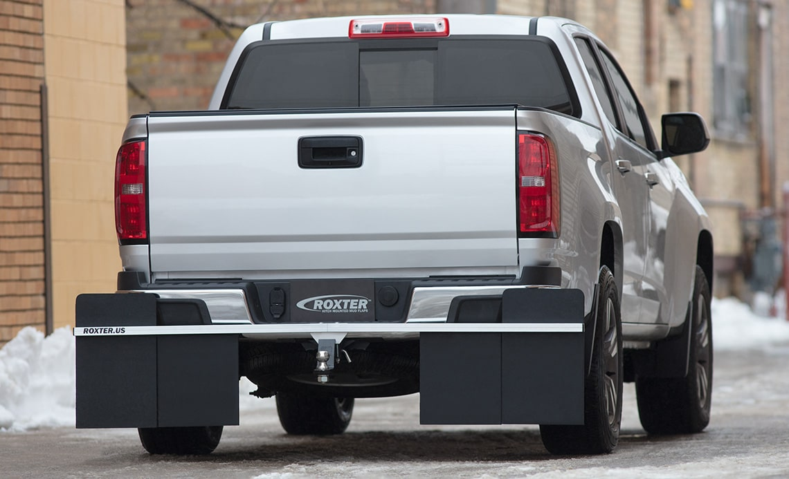 Roxter Mud Flaps on Chevy Colorado