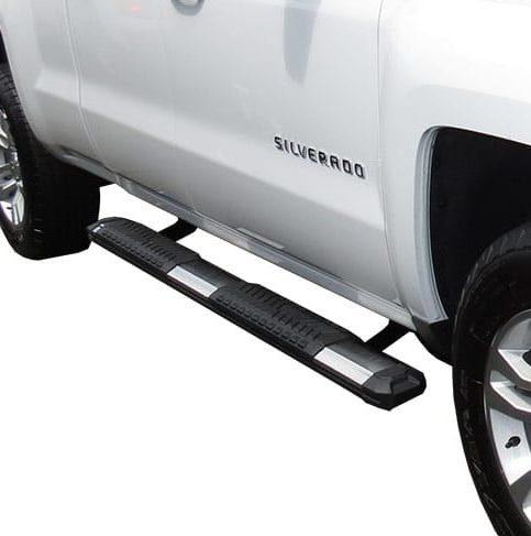 "Steelcraft STX400 5"" Black Aluminum Side Step Chevy GMC"