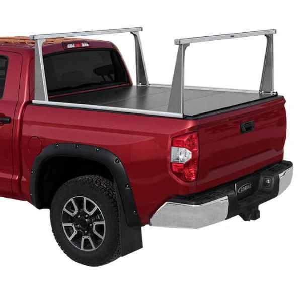 Adarac Alum Pro Truck Rack on Toyota