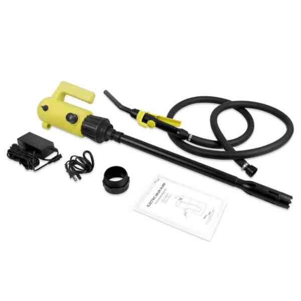 Tera Electric Powered Gas / Diesel Drum Transfer Pump - TREDRUM