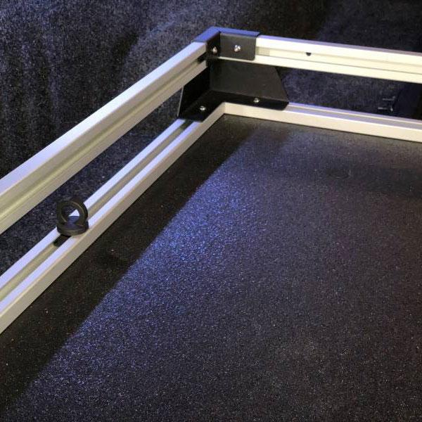 Bedslide Traxrail side racks for Bedslide S