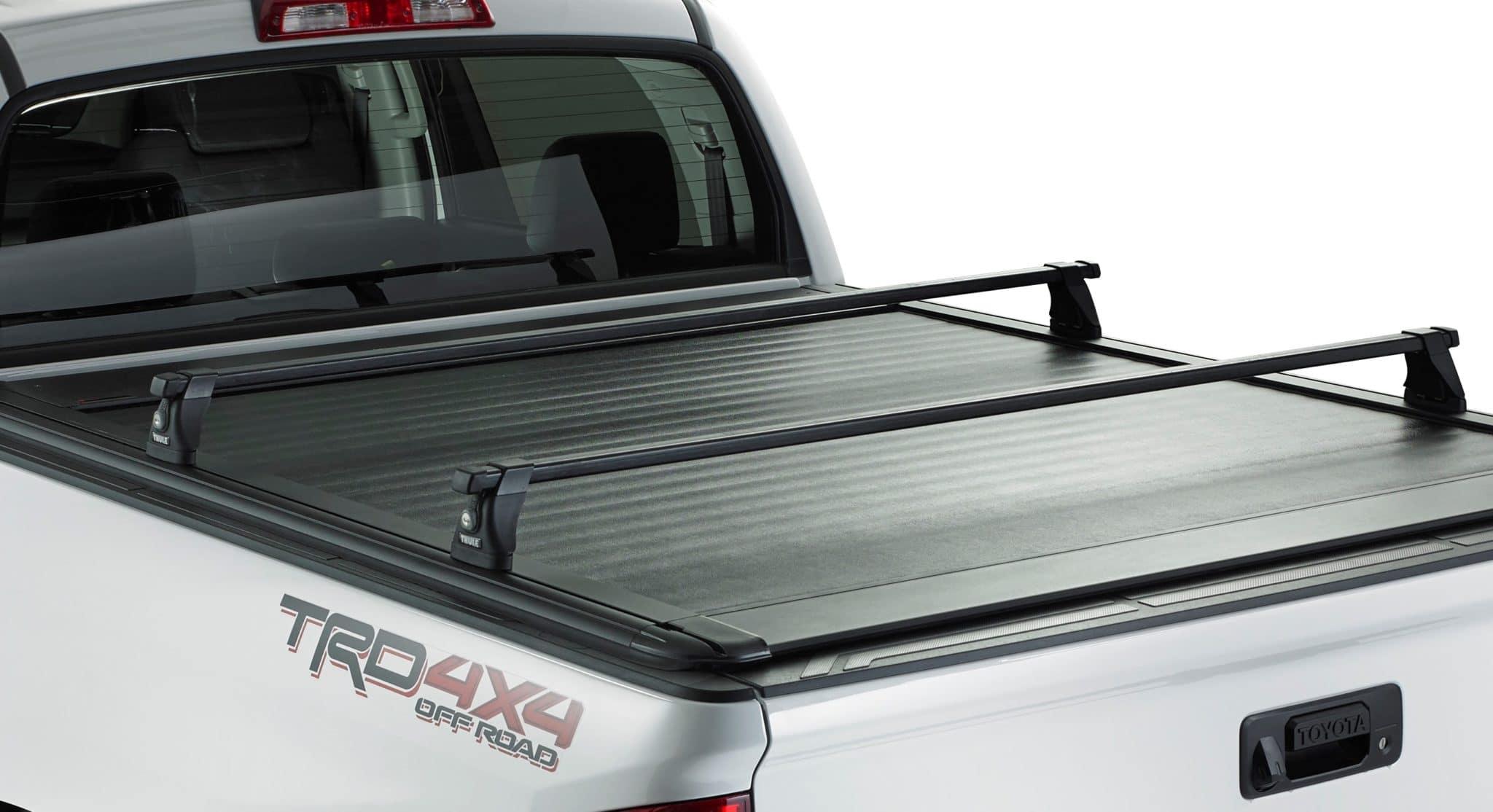 Ultragroove Tonneau on Toyota (rack not included)